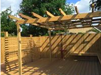 Garden Decking in Dedworth