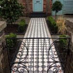 Victorian pathway paving